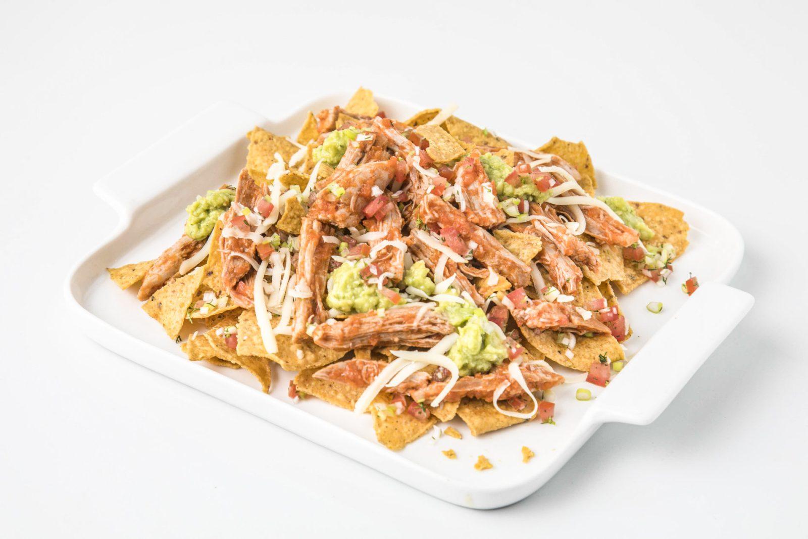 Tortillas Mexicanas Con Bondiola De Cerdo Horneada